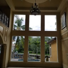 Palm Beach Gardens Florida Inside View Windows Installed by the Window Professionals