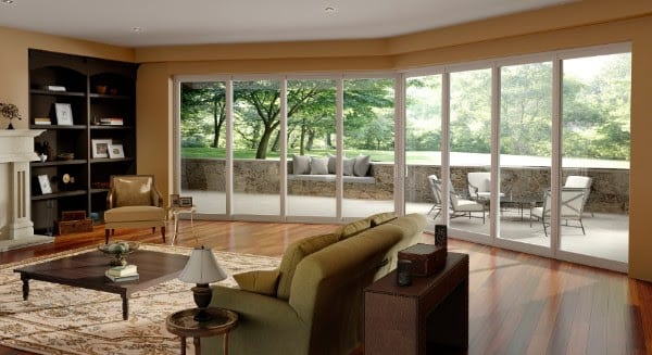 Pgt Vinyl Sliding Glass Doors Of Pgt Energyvue Sliding Glass Doors From The Window