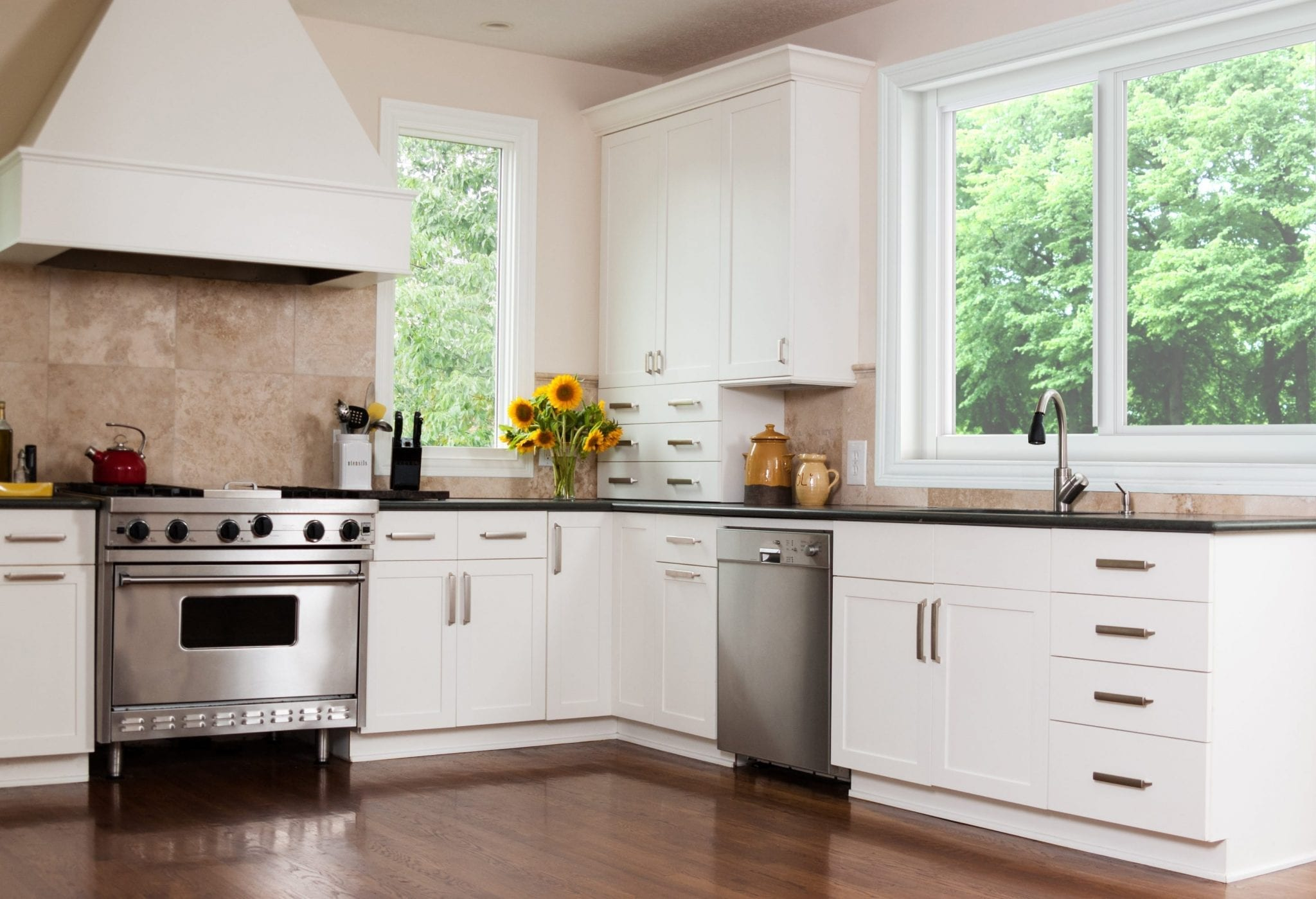 HORIZONTAL KITCHEN WINDOWS